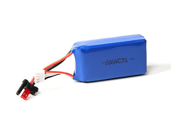 FX070C 2.4GHz 4CH Flybarless RC Helicopter remplacement 1100mAh 11.1V Batterie LiPoly