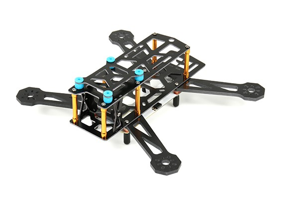 Dart 230G FPV Avec PCB intégré, amortissant les vibrations et (Kit) de LED