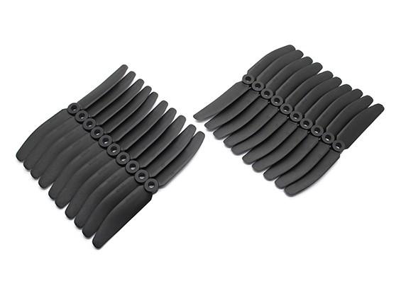 Gemfan 5040 Multirotor CRP Hélices Bulk Pack (10 paires) CW CCW (Noir)