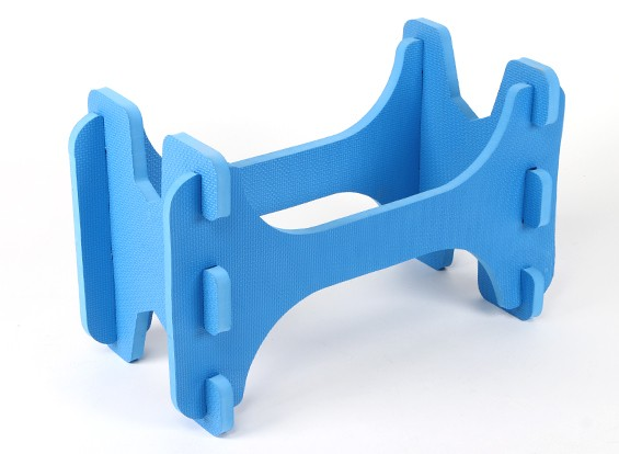 HobbyKing ™ Lightweight Foam Model Aircraft Stand (Bleu)