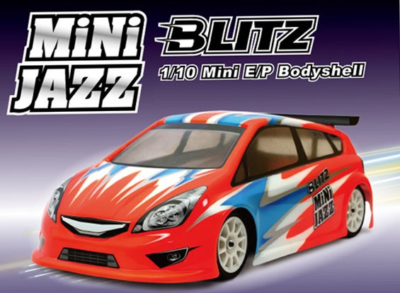 BLITZ Mini Jazz 1/10 EP Shell corporel (225mm) (de 0.8mm)