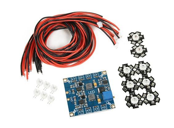 Fréquence Octocopter réglable LED Light Set Module