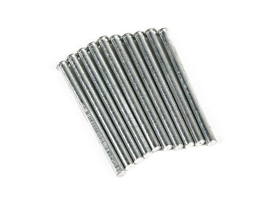 Rétractent Pins Gear Nez 3mm (10 pièces par sac)
