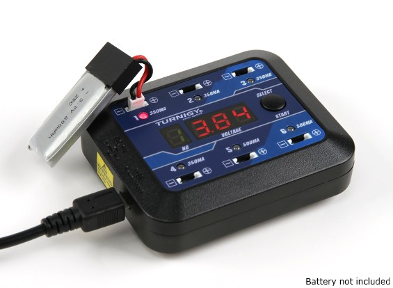 Turnigy Micro-6 Lipoly Chargeur de batterie