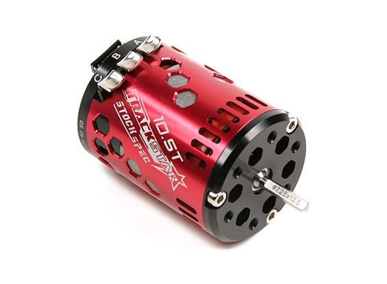 TrackStar 10.5T Stock Spec Sensored moteur Brushless V2 (RAAR approuvé)