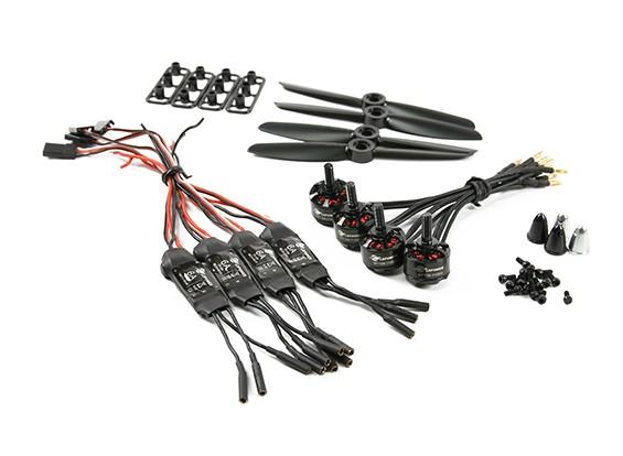 Système LDPOWER D150 Multicopter Puissance MT1306-3100kv (4 x 4,5) (Paquet de 4)