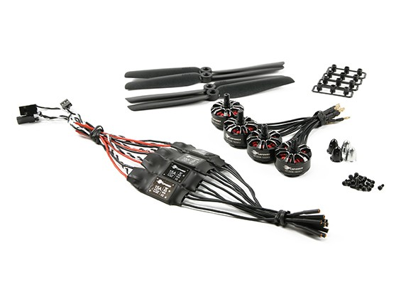 LDPOWER D250-2 Power System Multicopter 2206-1900kv (6 x 3) (4 pièces)