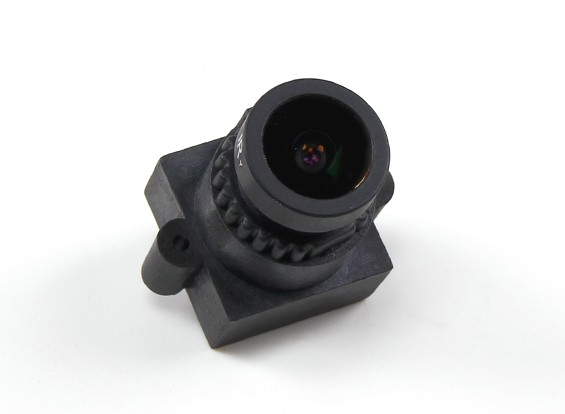 "2.8mm Conseil d'objectif F2.0 CCD Taille 1/3 ""Angle 160 ° Angle w / Mount"