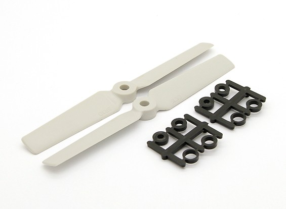 Gemfan 3D multi-rotor 5x3 Hélice (Blanc)