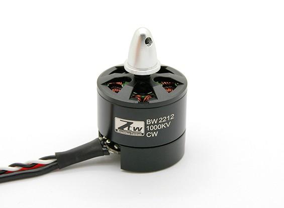 Black Widow 2204 1900KV Avec intégré ESC CW