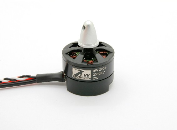 Black Widow 2206 2000KV Avec intégré ESC CW