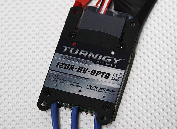 TURNIGY K-Force 120A-HV OPTO V2 5-12S Brushless
