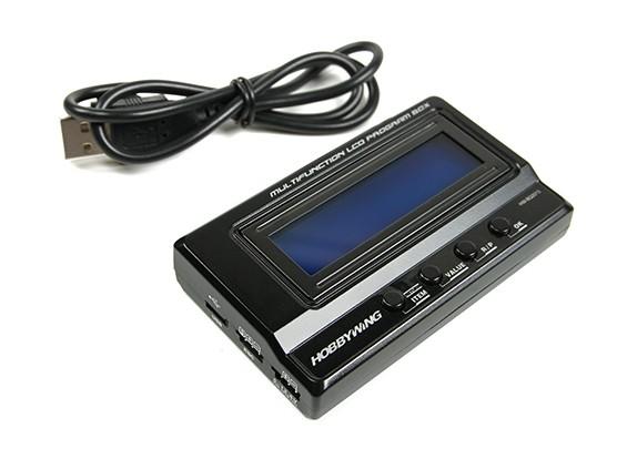Hobbywing LCD multifonctions Box Program