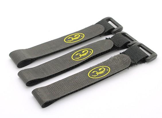 Scorpion Locking Velcro Batterie Strap Set