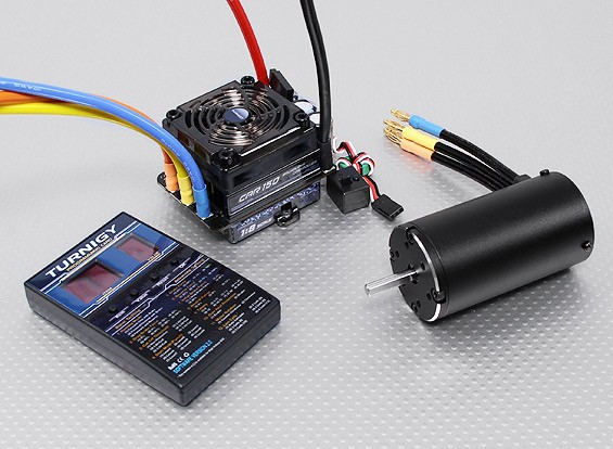 Turnigy Brushless 1/8 Scale Car Power Système 2000KV / 150A