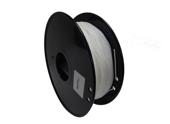HobbyKing 3D Filament Imprimante 1.75mm flexible 0.8KG Spool (Blanc)