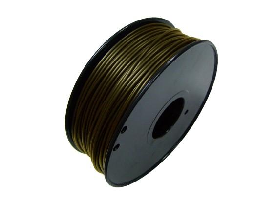 HobbyKing 3D Filament Imprimante 1.75mm Métal Composite 0.5KG Spool (Bronze)