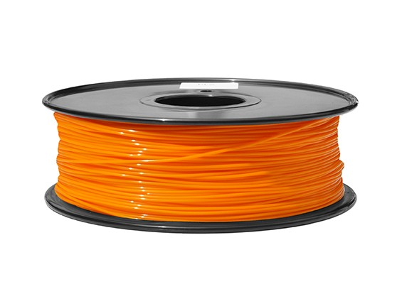 HobbyKing 3D Filament imprimante 1.75mm ABS 1KG Spool (Orange P.021C)