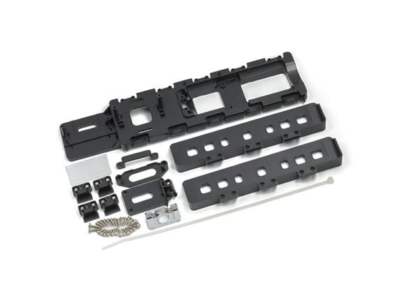 Composants en plastique montage réglé
