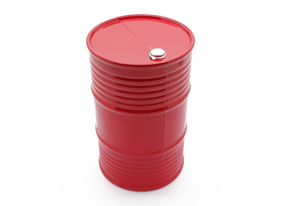 1/10 Echelle 45 Gallon Oil Drum - orange