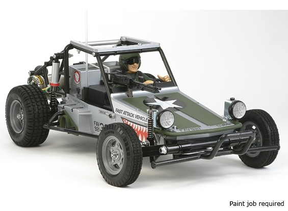 Tamiya 1/10 Echelle Fast Attack Vehicle Edition 'Shark Mouth' 58539