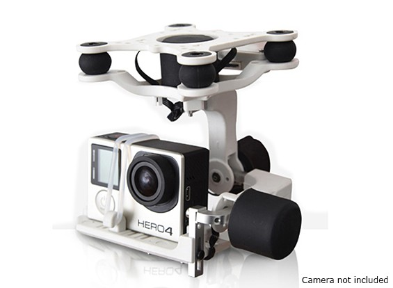 Geocalla G4-3D 3 Axis High Performance Caméra Gimbal (Turnigy, Isaw, GoPro Compatible)