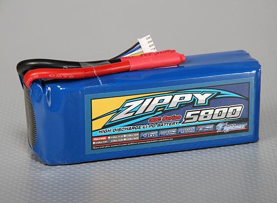 ZIPPY FlightMax 5800mAh 4S1P 30C