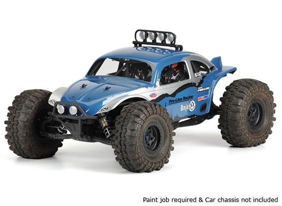 Pro-Line Volkswagen Baja Bug Effacer Body Shell 1/10 pour Yeti