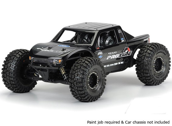 Pro-Line Ford F-150 Raptor SVT Effacer Body Shell pour Axial Yeti