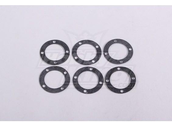 Rondelles Diff.Box (6Pc / Sac) - A2016T, A2038 et A3015