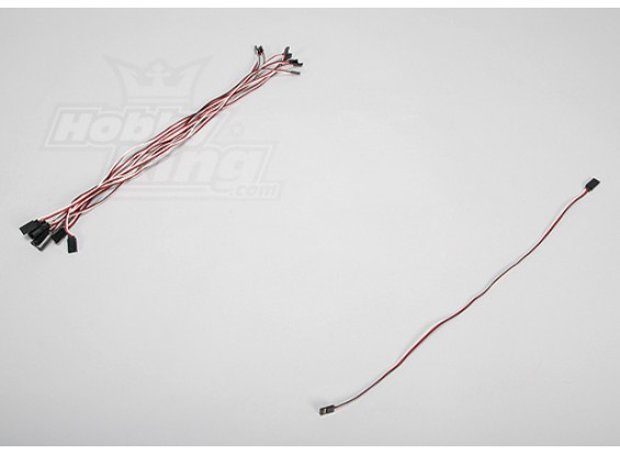 45CM Servo Lead Extention (Futaba) 26AWG (10pcs / set)