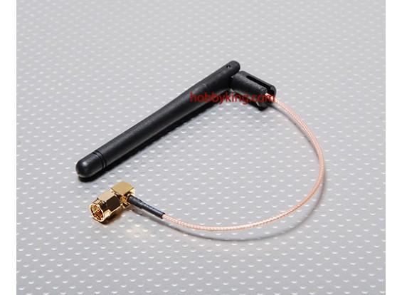 Antenne w / fil étendu