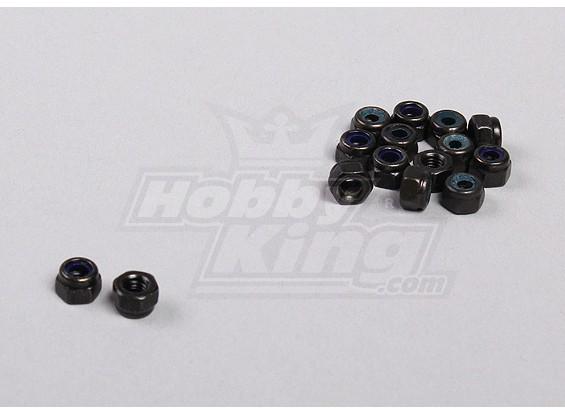Hex Fastener Nuts M3 (15pcs / sac) - 1/5 4WD Big Monstre