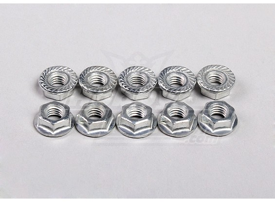 Hex Bride Nuts M5 (10pcs / sac) - 1/5 4WD Big Monstre