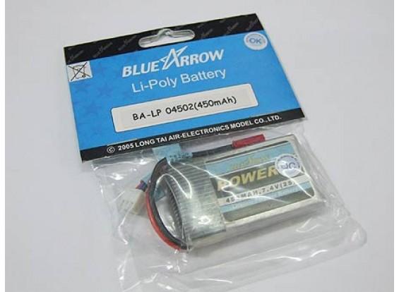 Pack Blue Arrow Lipo 450mAh 2S 12C