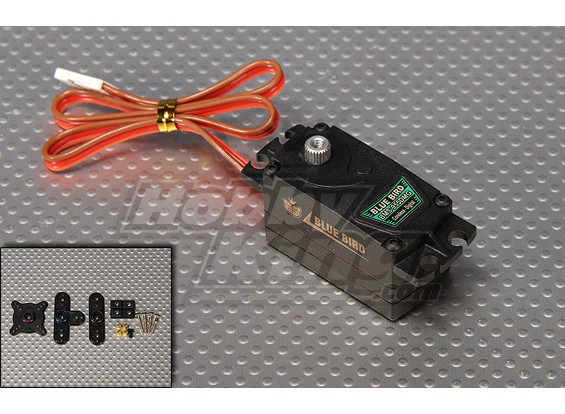 BMS-955DMG numérique Low Profile High Gear Servo Speed Metal 5,2 kg / 0.08sec / 45g