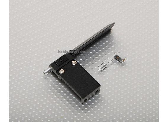 CNC Rudder -S 75mm