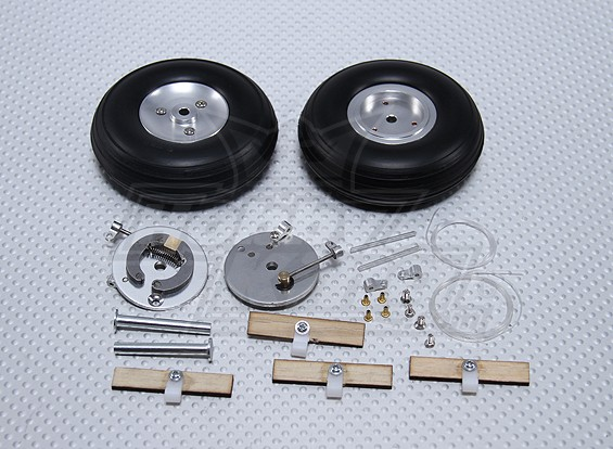 Turnigy 70mm Roue avec système de freinage intégré