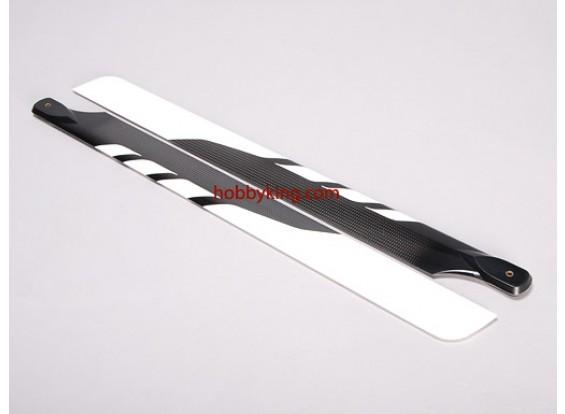 Full Carbon Fiber 550 Lames de taille (SELLOUT)