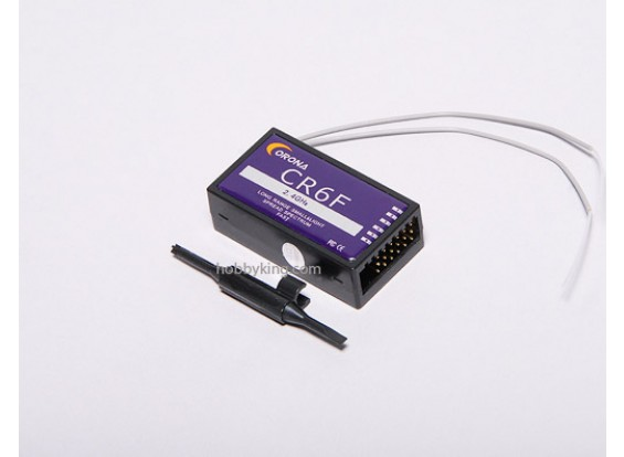 Corona récepteur 2.4Ghz 6ch (FHSS)