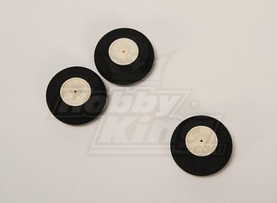 D50xH18.5 Super Wheel Light (3pcs / sac)