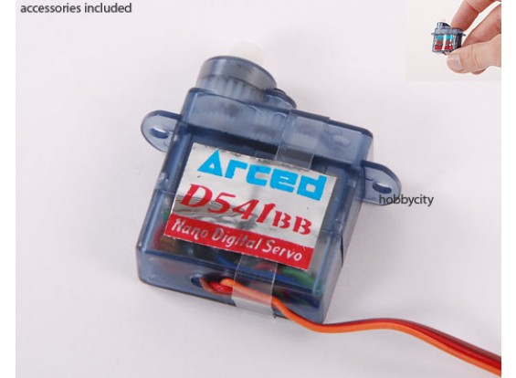 0,6 kg D541BB-v2 Digi-Micro Servo / .09sec /4.4g (SELLOUT)