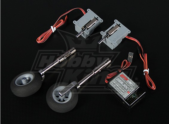 DSR-30BS électrique Retract Set - Modèles jusqu'à 1,8 kg
