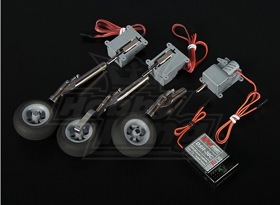 DSR-30TR électrique Retract Set - Modèles jusqu'à 1,8 kg
