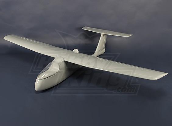 Aigle en fibre de verre FPV - UAV (Gris) (ARF)