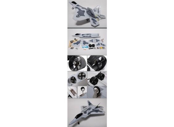 F-22 Raptor Jet w / Twin Brushless EDF