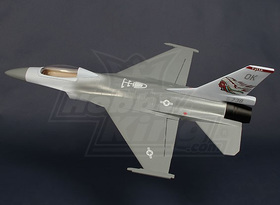 70mm EDF Fighter Jet - Fibreglass 620mm (ARF)