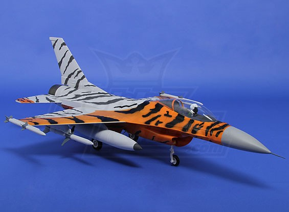 Schéma Tiger Jet inc 80mm EDF (ARF)