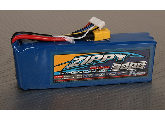 ZIPPY FlightMax 3000mAh 5S1P 20C