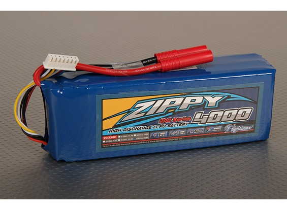 ZIPPY FlightMax 4000mAh 6S1P 20C